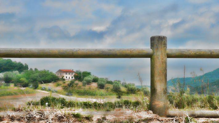 Altes Bauernhaus in der Toskana