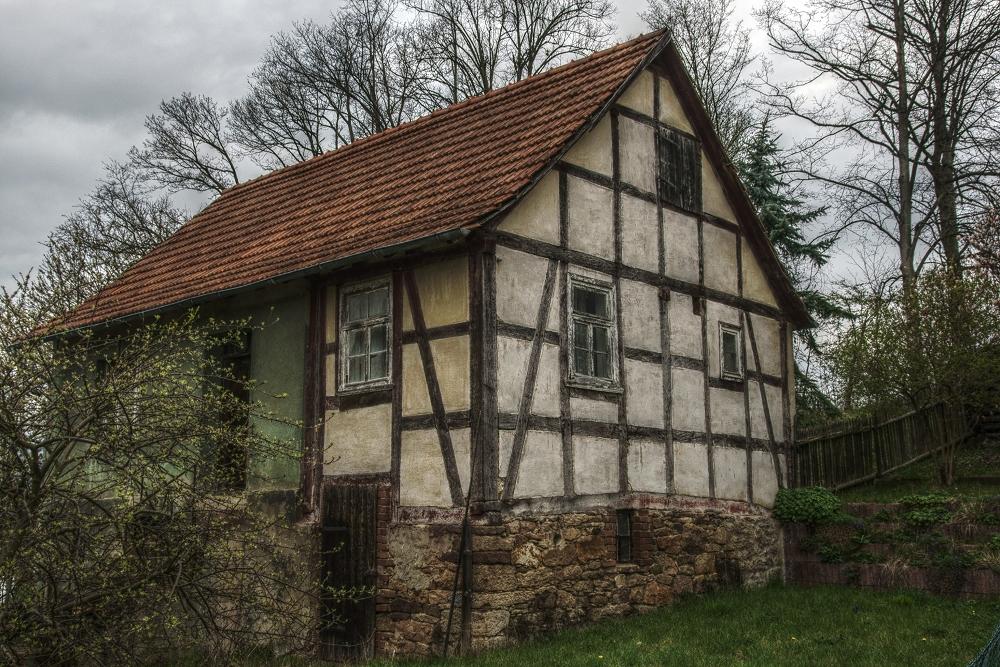 Altes Bauernhaus in Jesberg (Oberhessen) HDR