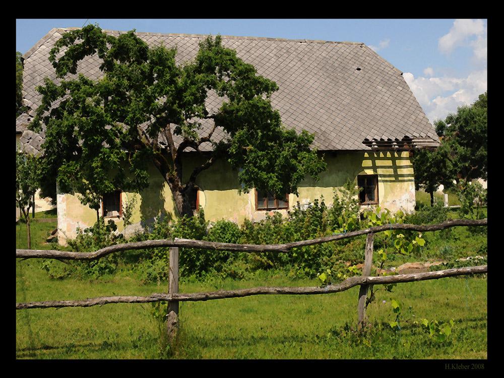 altes Bauernhaus in Südkärnten