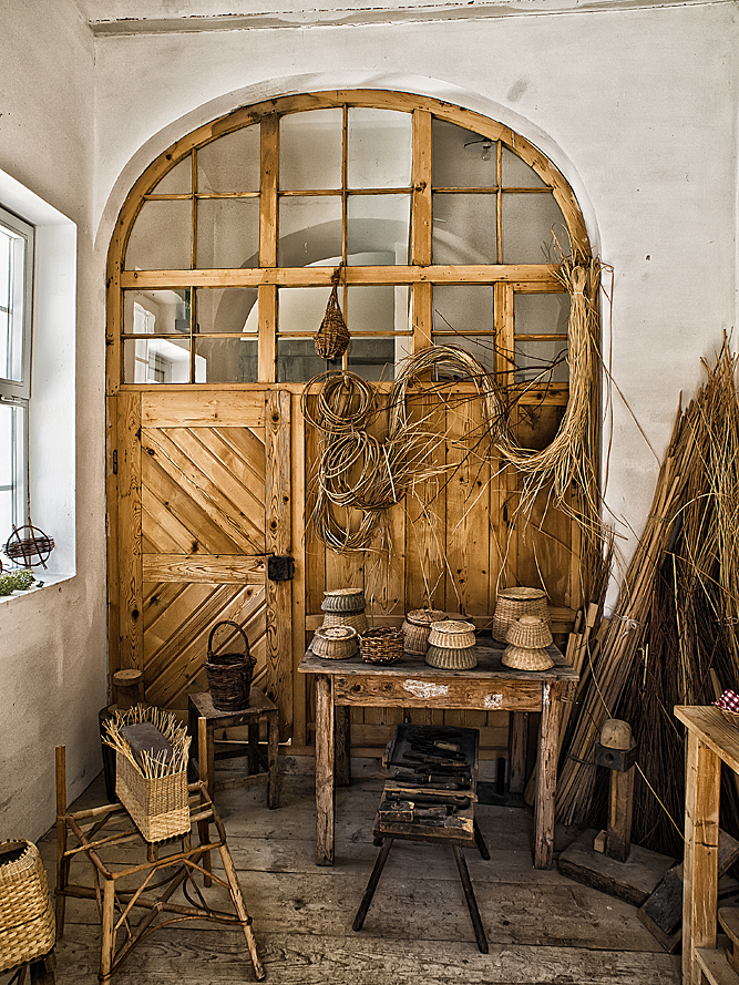Altes Bauernwerkzeug