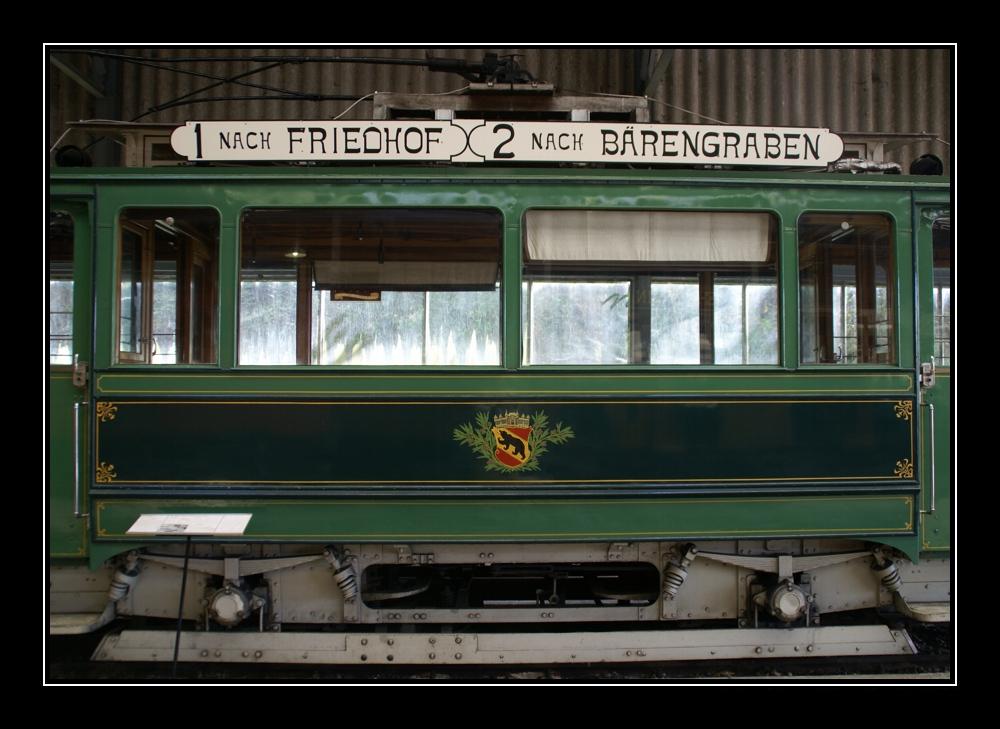 altes berner tram