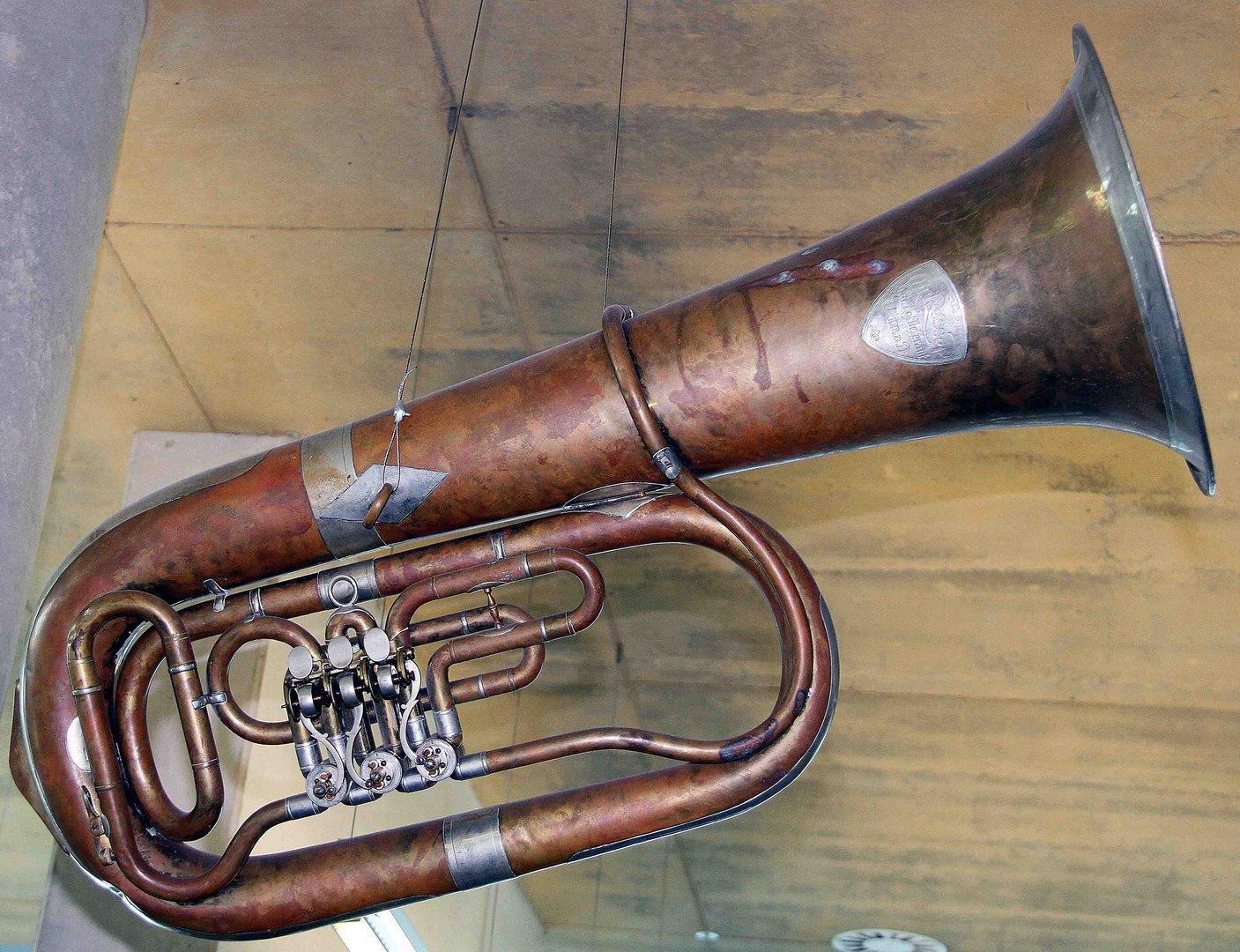 Altes Blasinstrument