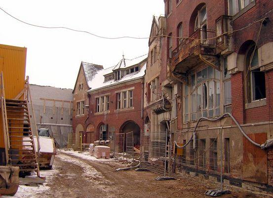 Altes Depot Nausslitz und neues Kaufland