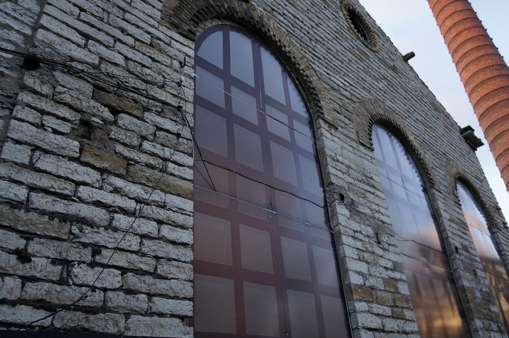 altes Fabrikgebäude in Tallin