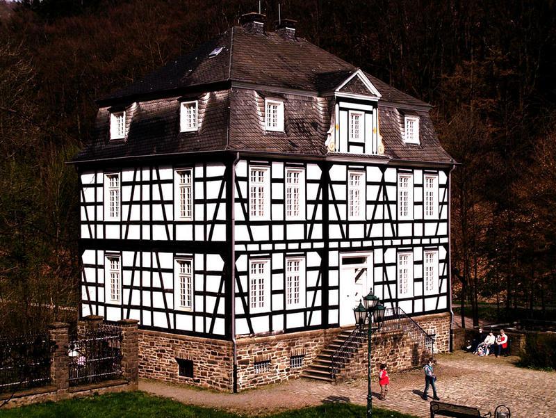 Altes Fachwerkhaus im Freilichtmuseeum