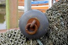 Altes Fanggeschirr für den Krabbenfang