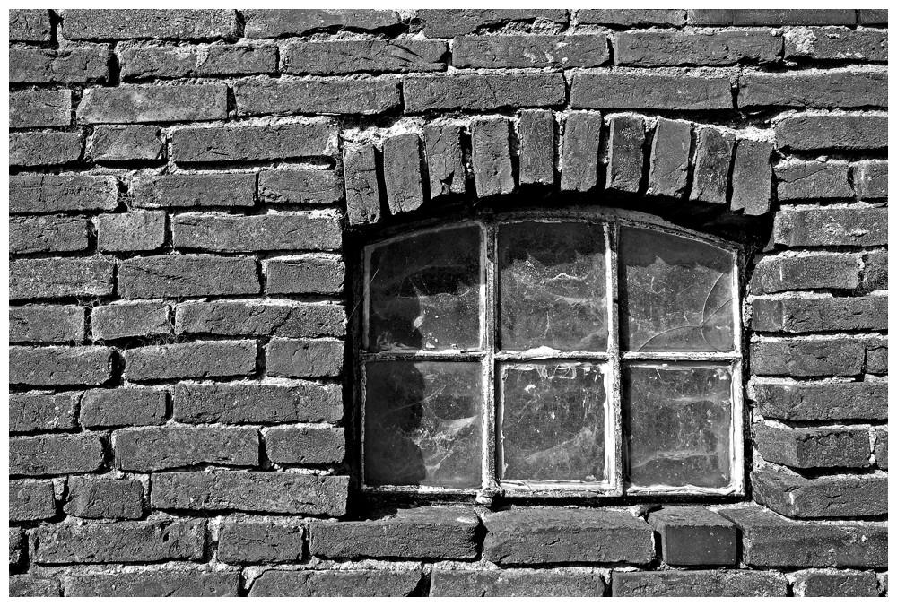 Altes Fenster zum Hof