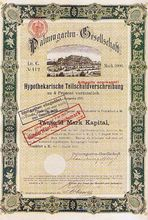 Altes Frankfurter Wertpapier