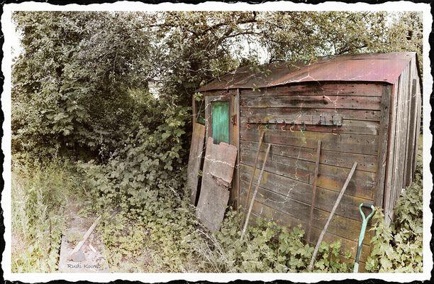 Altes Gartenhaus