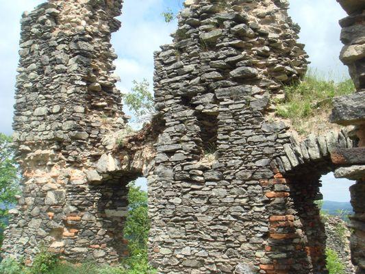 altes Gemäuer am Engelberg