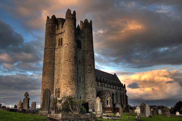 Altes Gemäuer im Osten Irlands