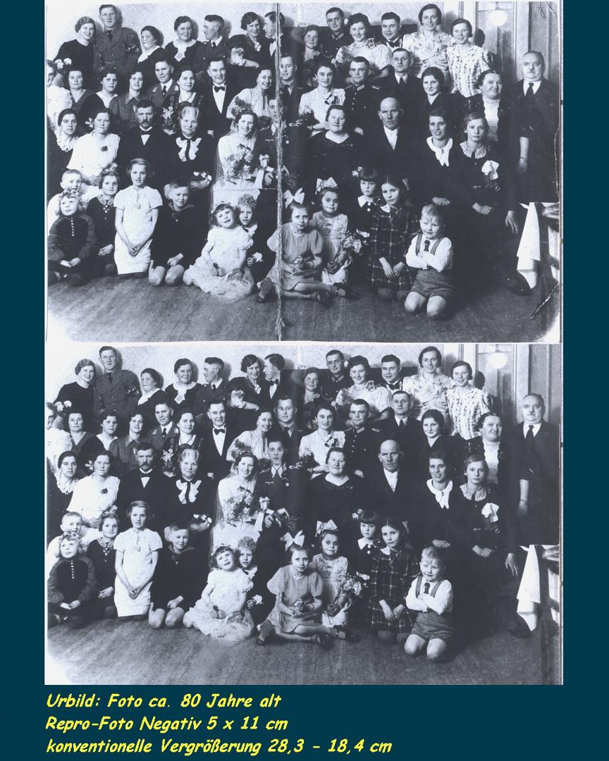 altes Gruppenbild