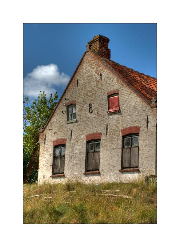 Altes Haus auf der Insel Juist