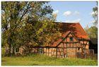 Altes Haus im Oderbruch