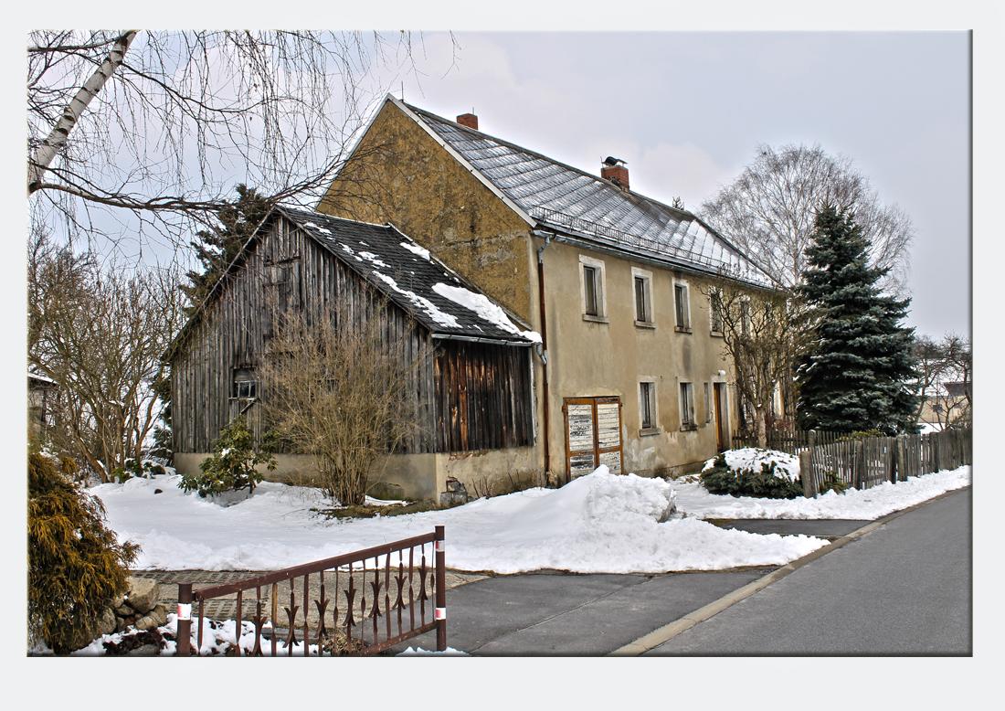 Altes Haus in der Oberlausitz