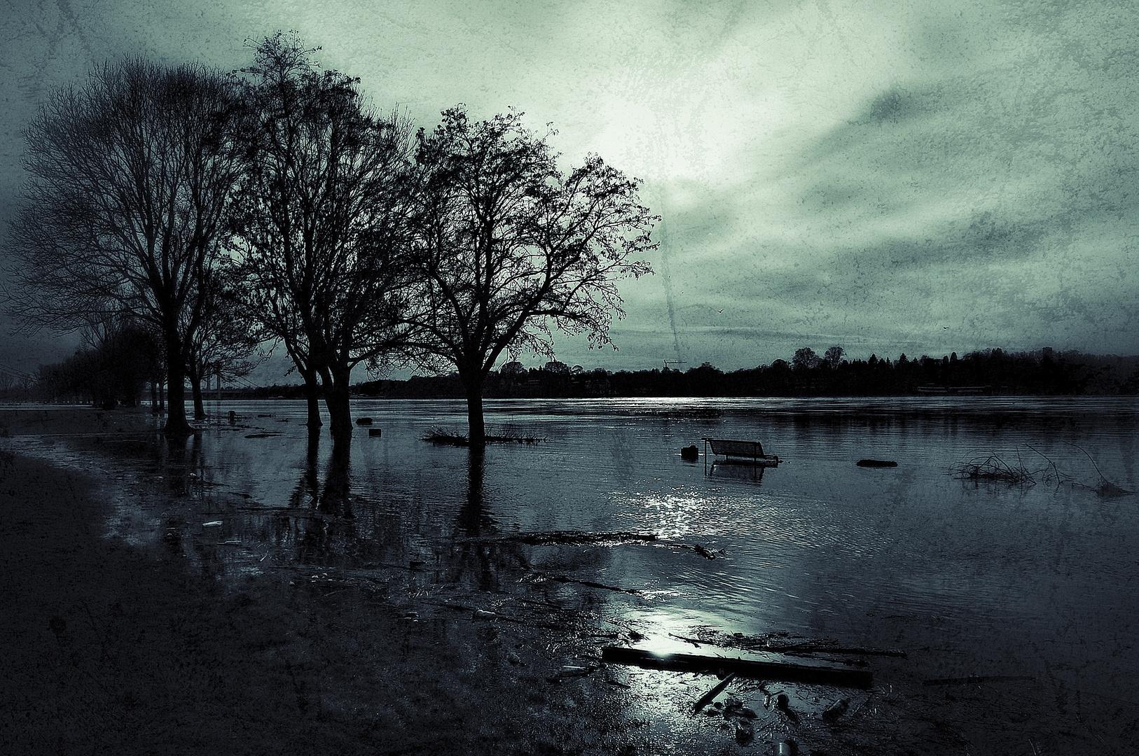 altes hochwasser