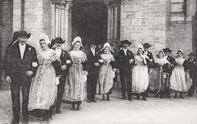 Altes Hochzeitsbild um 1930