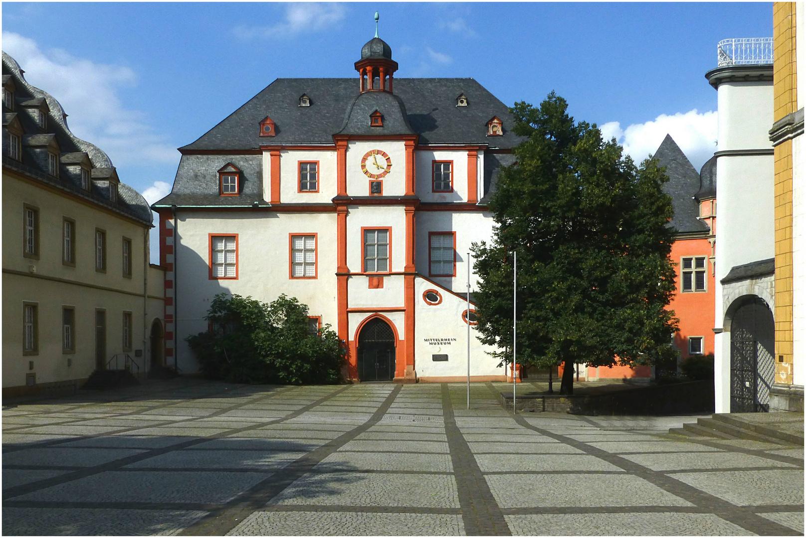 Altes Kauf- und Danzhaus in Koblenz (ehem.Sitz des Mittelrheinmuseums)