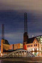 altes Kesselhaus in der Speicherstadt in Hamburg
