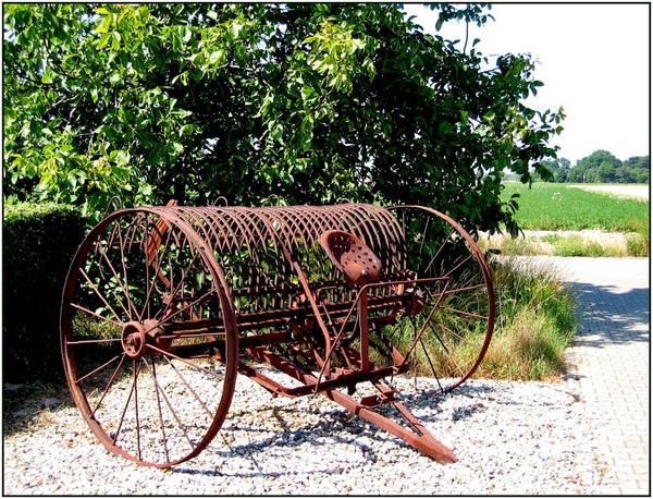 Altes landwirtschaftliches Gerät (Werkzeug)
