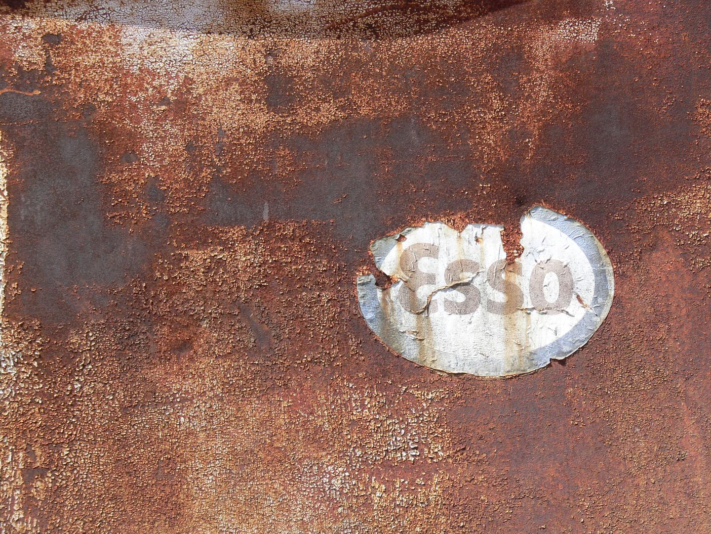 Altes Logo Tankstelle Teneriffa