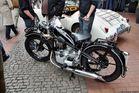 Altes Motorad von BMW