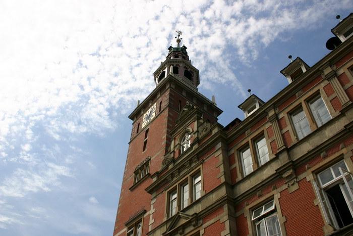 Altes Rathausgebäude mit Turm