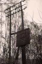Altes sächsisches Signal