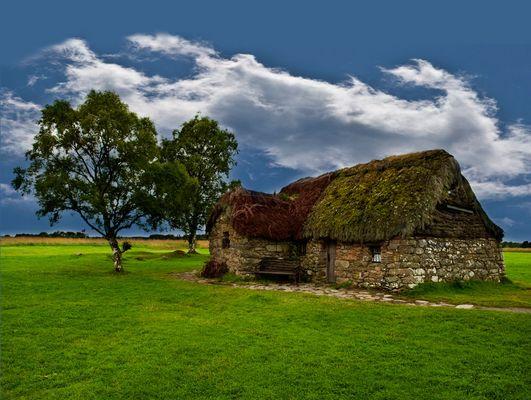 Altes schottisches Haus