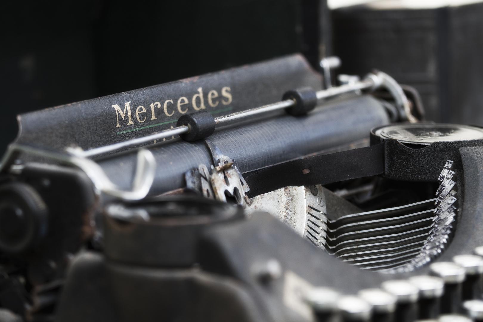 Altes Schreibgerät