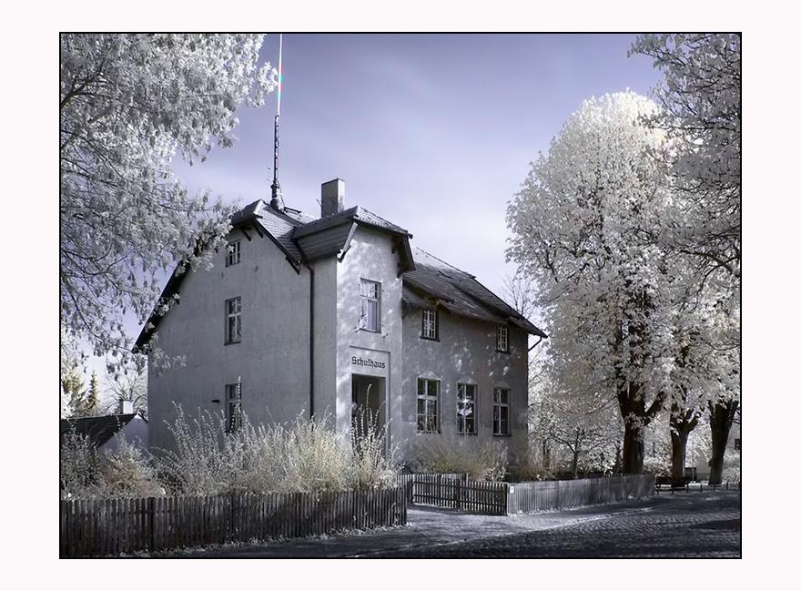Altes Schulhaus in Berlin-Lübars.