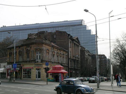 Altes und Neues in Belgrad
