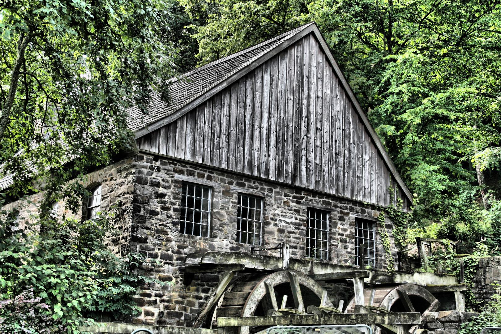 altes wassergebäude
