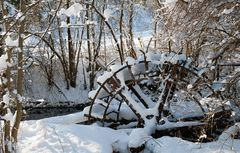 Altes Wasserrad