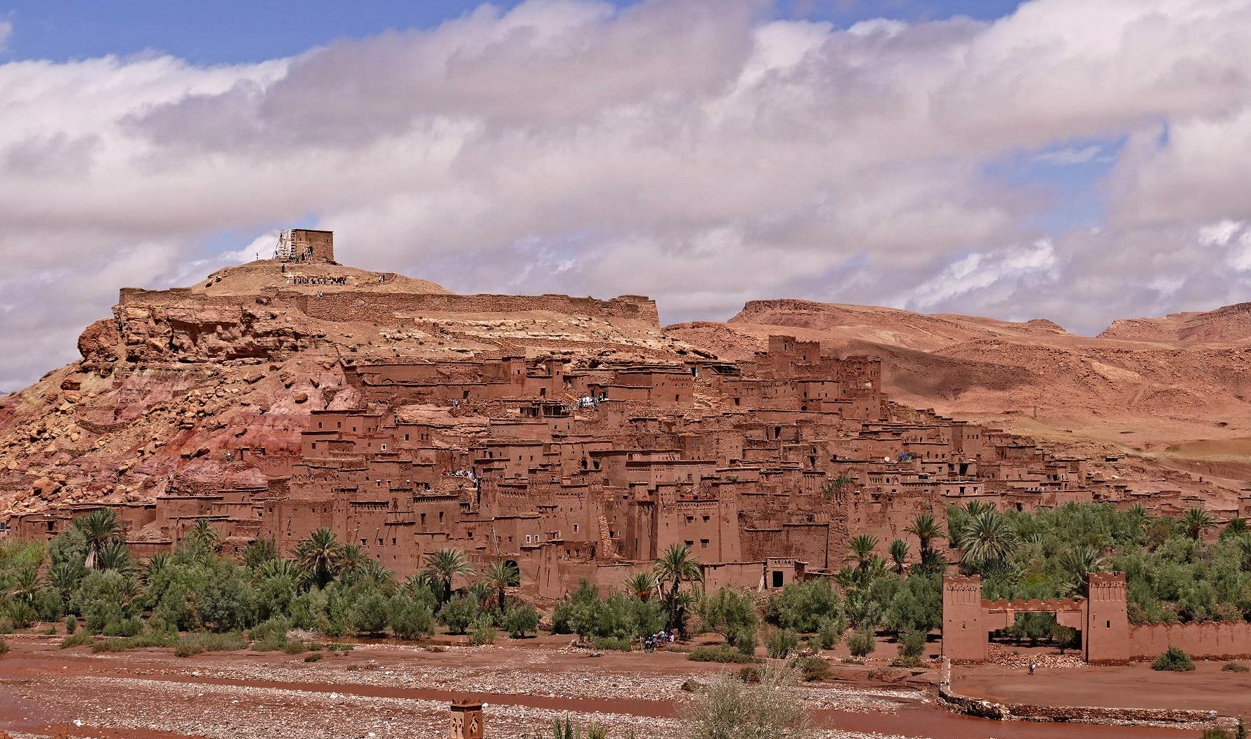 Altes Wehrdorf in Marokko