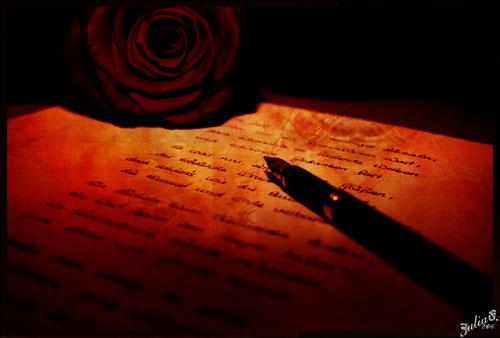 altmodischer Liebesbeweis