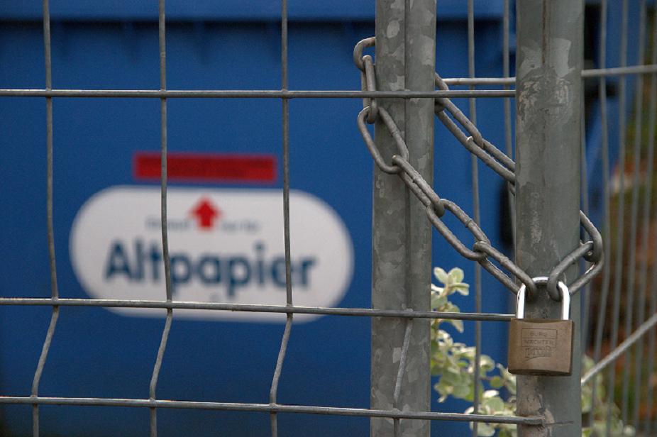 AltpapierSicherheitsverwahrung