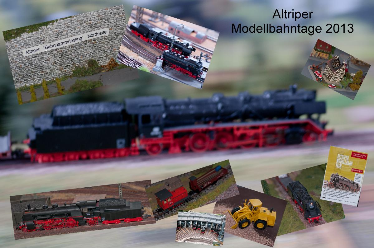 Altriper Modellbahntage 2013
