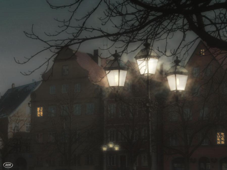 Altstadt am Abend...
