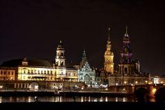 Altstadt Dresden bei Nacht