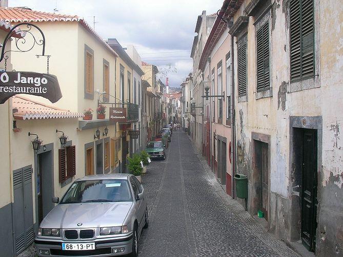Altstadt in Funchal