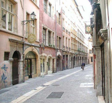 Altstadt in Lyon