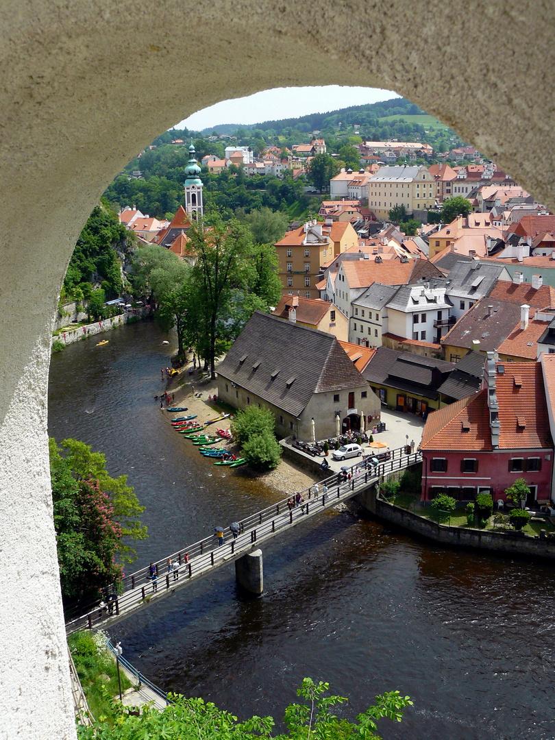 Altstadt Krumau-Krumlov