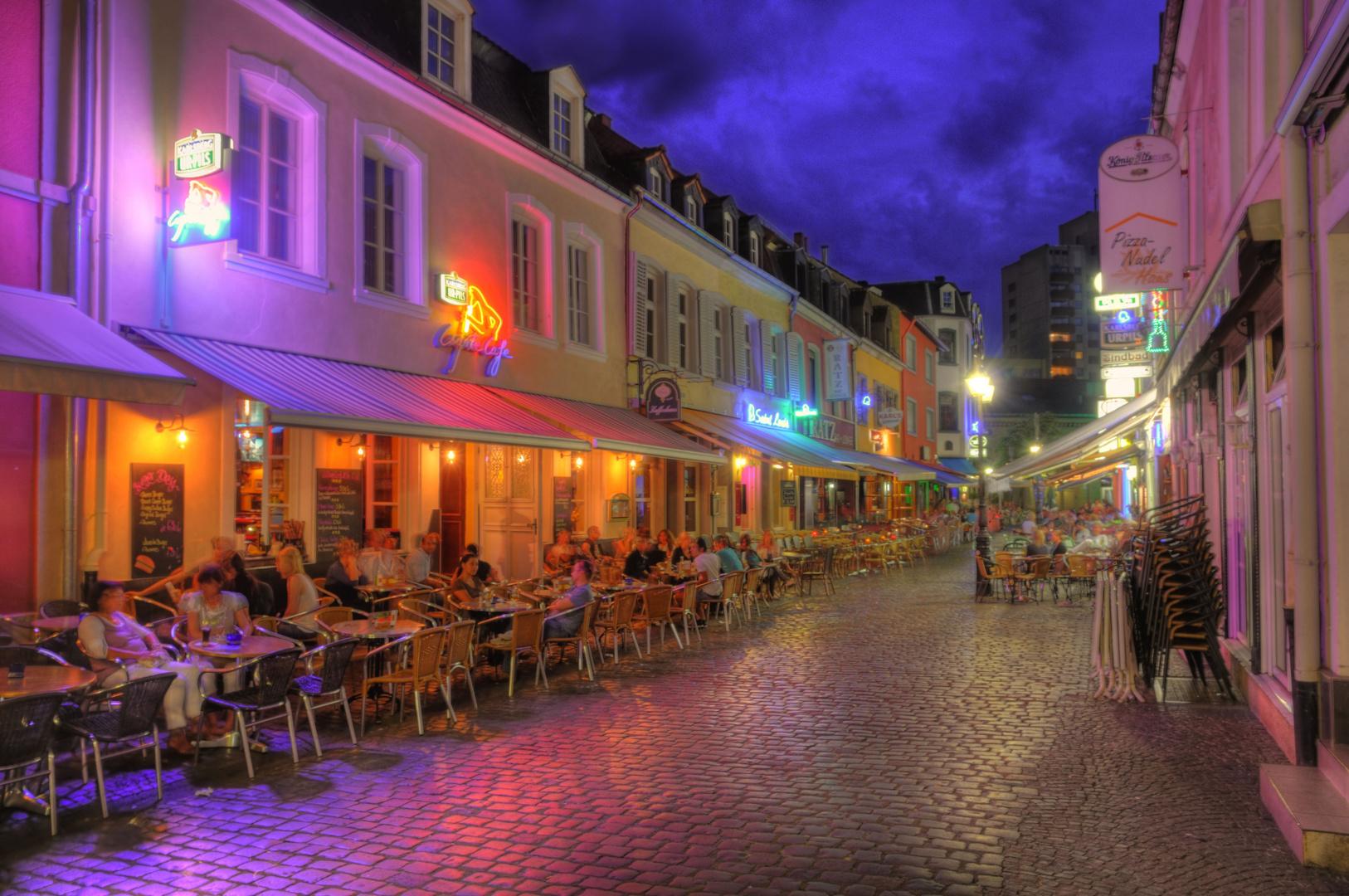 Altstadt Saarlouis an einem Sommerabend, 2. Teil