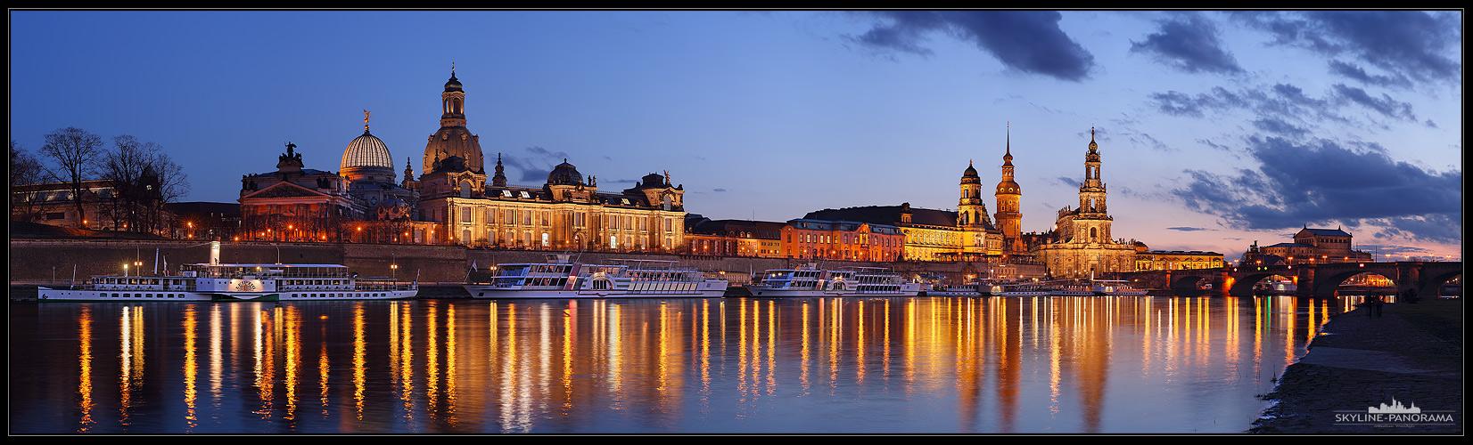 Altstadt Silhouette Dresden