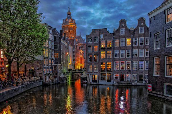 """""""Altstadt von Amsterdam"""""""