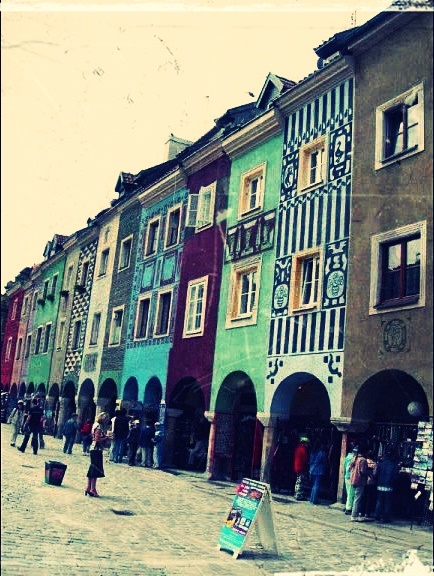 Altstadt von Poznan.