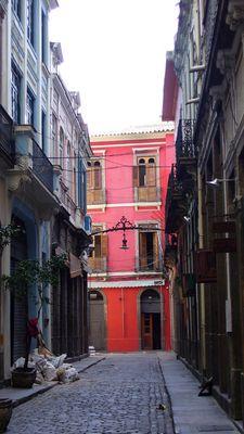 Altstadt von Rio - wieder im Aufbau
