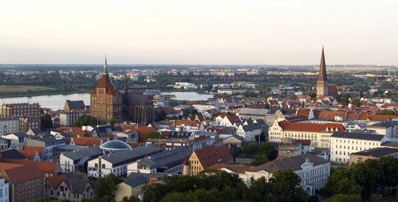 Altstadt von Rostock mal leicht von oben ;)