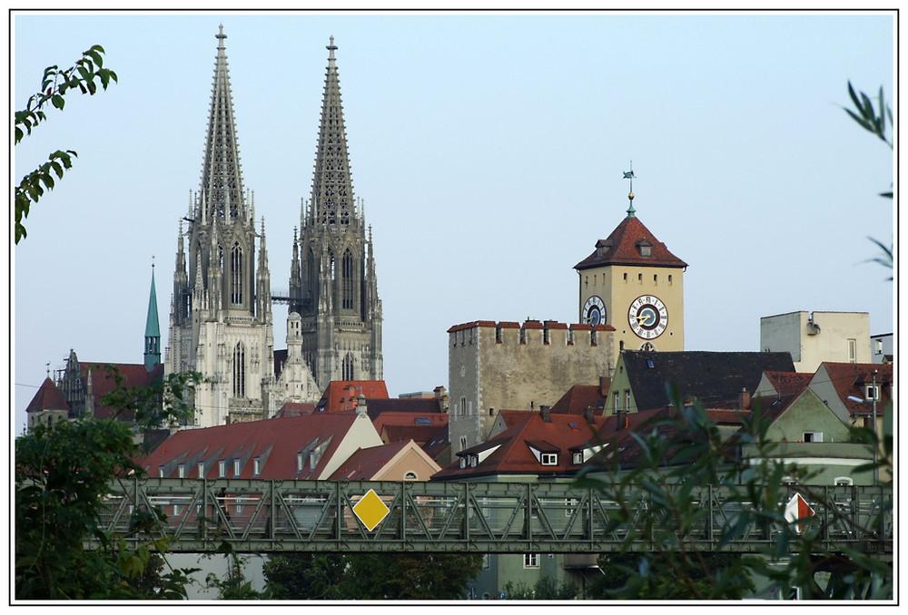 Altstadtblick mit Eisernem Steg